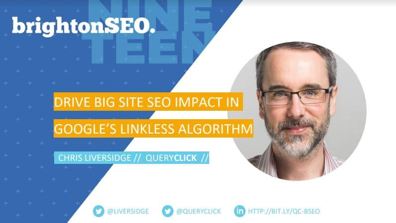 Chris Liversidge Brighton SEO