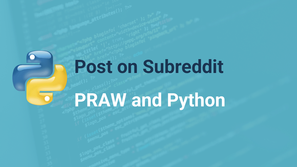 Post on Subreddit using reddit api